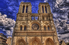 Power of God (Stuck in Customs) Tags: sky paris france church clouds catholic religion chapel notredame holy hdr globalspirit curtissimmons