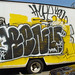 Graffiti on a truck: renuer