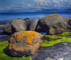 Yellow Stone (Photomatix version) (Krogen) Tags: nature norway landscape norge natur norwegen olympus noruega lic scandinavia camedia krogen landskap noorwegen noreg skandinavia runde c50 photomatix specland
