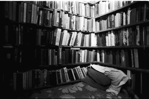 Shakespeare & Company, reading bed
