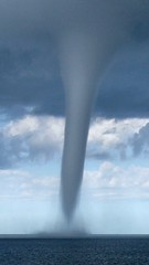 "Tornado ...and closer (Mladen ""999 Photos"") Tags: croatia tornado brac adriatic waterspout murvica pijavica maldendj"