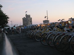 La Rochelle Sunset - Bikes and Towers