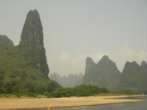 Karst Formation, Li River, Guilin, China by you.