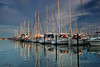 Reflections (Dietrich Bojko Photographie) Tags: travel summer seascape tag3 taggedout d50 germany deutschland topf50 bravo holidays tag2 tag1 searchthebest quality balticsea nikond50 schleswigholstein circularpolarizer yachtharbor grömitz cokinp121 cokinp164 gnd8 abigfave