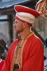 Bandsman - four (CharlesFred) Tags: red man sexy male men station turkey uniform masculine anniversary türkiye band handsome istanbul uomo mens turkish turk homme uomini mannen turkishmen hyderpasa turkishman menofturkey handsometurk meninturkey