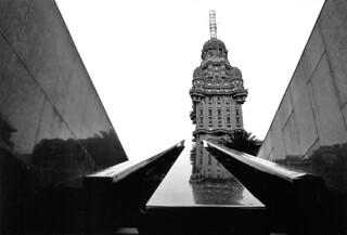 Plaza en Montevideo