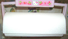 Hello Kitty Strawberry Paper Towel Holder (pkoceres) Tags: pink kitchen japan paper strawberry hellokitty towel sanrio holder     boughtonebay  hellokittystrawberry