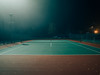 Random # 95 (Alonso Ormeño) Tags: alonsoormeno tennis court night mist fogg foggy
