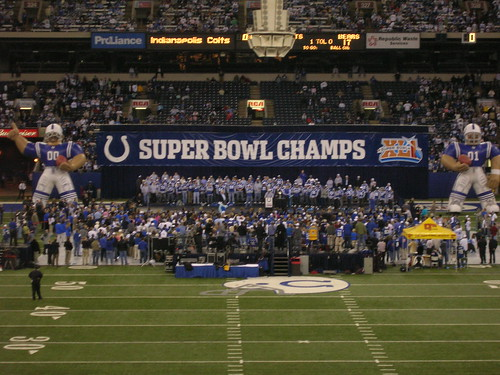 Superbowl Champions Indy Colts