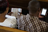 Reading the Bible, Kenya (Wycliffe Media) Tags: africa woman man reading book mujer phone kenya african leer nairobi femme mulher ken libro read teléfono bible afrika livro lecture homem livre kenia scripture ler hombre telefone homme lire lectura africain 書 africana kenyan 電話 africano leitura escritura téléphone africaine áfrica 女人 非洲 男人 本 lafrique 女性 男性 經文 閱讀 読書 아프리카 quênia африка keniano 非洲人 アフリカ人 케냐 кения 読む keniana queniano 肯尼亚 sagradaescritura queniana 聖句 kenyane textebiblique ケニヤ人 肯尼亞人