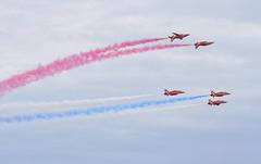 Red Arrows (Greywolf907) Tags: sky amazing nikon aircraft redarrows raf aerobatics sigma105 baesystemshawk clactonairshow nikond800