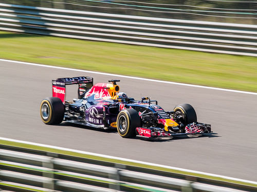 Belgian GP - Infiniti Red Bull Racing - Daniel Ricciardo