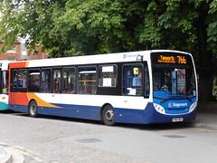 Stagecoach in Warwickshire - KX62 BUA (BigbusDutz) Tags: 200 alexander dennis warwickshire stagecoach bua enviro kx62