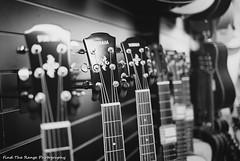 Yamaha acoustics (Rich Presswood) Tags: leica city blackandwhite bw music white black film 35mm mono kodak guitar trix realtime rangefinder adobe f2 analogue m6 chesterfield lightroom leitz konicamhexanon findtherangephotography