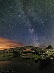 Aberffraw Bridge Milky Way (Paul Sivyer) Tags: sunset milkyway anglesey aberffraw paulsivyer wildwalescom