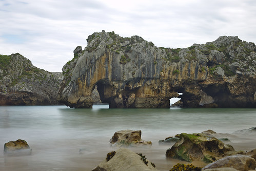 Playa de Cuevas de Mar (long exposure)