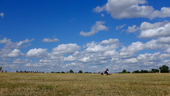 Picnicking (ed_halls) Tags: london picnic bluesky fujifilm expanse x100s