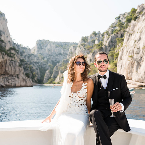 Mariage Marseille Cassis Alice & Pierre