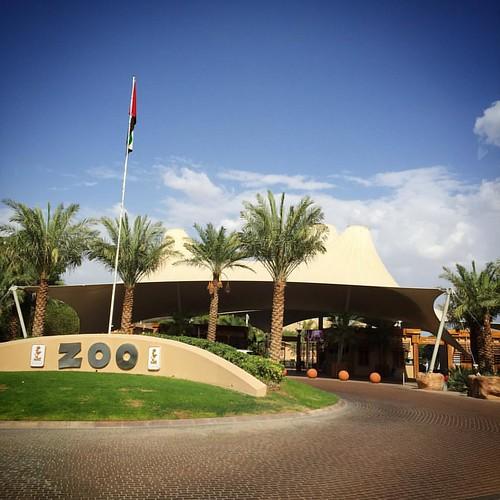 Welcome to Al Ain Zoo #inAbuDhabi