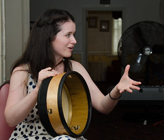 Bodhran workshop2