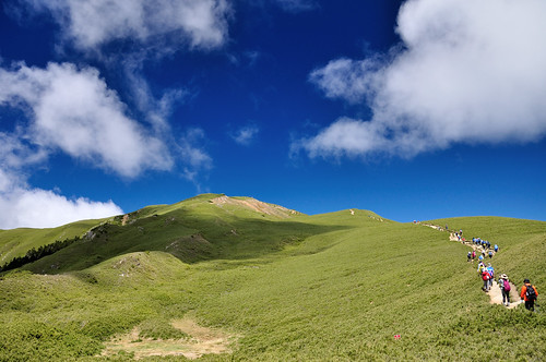 合歡山北峰步道