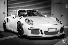 Porsche 911 GT3 RS (*AM*Photography) Tags: auto bw white black nikon automobile 911 german porsche rs supercar trackday monza 991 gt3 gt3rs d3200 autodromodimonza worldcars