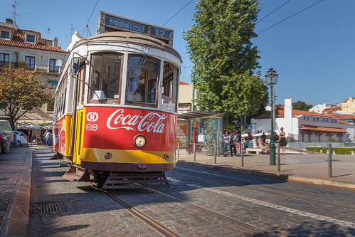 Cola express in Lisbon