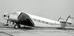 Chicago Midway Airport - Lockheed Lodestar (twa1049g) Tags: chicago airport midway lockheed 1963 lodestar cftcy