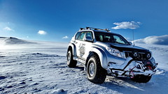 TOYOTA LC150 AT38 by Arctic Trucks Iceland (Astro Zhang Yu) Tags: road winter sky snow ice skyline clouds iceland offroad 4x4 trail hut toyota modified prado modification icelandic arctictrucks lc150