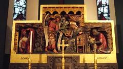 Saint Michael & All Saints 06 (byronv2) Tags: sculpture building history church architecture angel edinburgh panel religion carving kirk tollcross doorsopenday broughamstreet edimbourg saintmichaelandallsaints doorsopenday2015 rrowandanderson