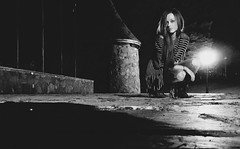Autumn in the air | Duluth, Minnesota (minnesotagypsy) Tags: nightphotography autumn portrait woman fall girl minnesota night photography model eerie mn duluth lakesuperior minnesotapeople leifericssonpark