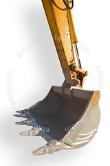 Godet de pelleteuse. (Emmanuel LATTES) Tags: white industry public cutout out de for bucket construction force power mechanical cut background steel machine equipment machinery works shovel heavy blanc industrie pelle fond digger travaux chantier excavator hydraulic publics engin acier godet mcanique pelleteuse puissance matriel dtour actuated hydraulique dtourable hydraulically