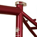 Gunnar Cycles Grand Disc in Rosewood Metallic - Seat Cluster View