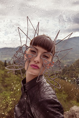 """MOLECOLISTA1"" by Andrea Pertegato (Andrea Pertegato) Tags: woman art artist mask visualarts creative lifestyle style visualart mattepainting phography makeupartist digitalartist conceptartwork composition conceptart visualartsgallery"