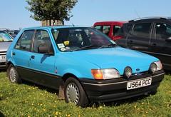J564 PCC (Nivek.Old.Gold) Tags: ford fiesta 14 1992 ghia 5door harston lexford