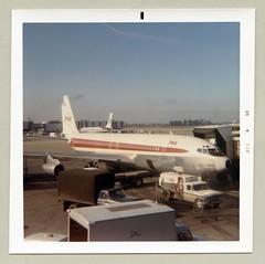 Boeing 707 (Raymondx1) Tags: color colour london classic vintage photography photo foto heathrow aviation 1960s boeing sixties twa lhr heathrowairport airtravel boeing707 transworldairlines