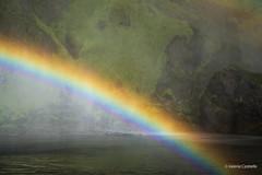 Skogar, the most shiny rainbow ever (Valeria Castiello) Tags: nature landscape iceland rainbow islanda skogafoss skogar