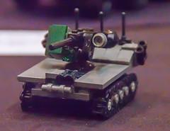 Military drone (SEdmison) Tags: california lego military convention santaclara drone bricksbythebay bricksbythebay2015