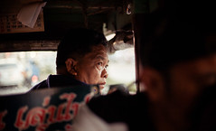 Thailand - The driver (Cyrielle Beaubois) Tags: travel portrait people man asian thailand asia thalande driver sukhothai 2015 canonef50mmf14 canoneos5dmarkii cyriellebeaubois