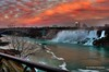 a spectacular sunset (now available for sale on Getty Images) (Rex Montalban Photography) Tags: sunset niagarafalls waterfalls rexmontalbanphotography