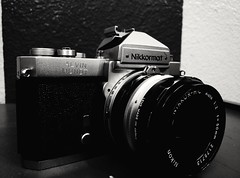 A new addition... (wyatthalchishick) Tags: camera nikon filmcamera nikkormat