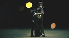 She's Gone Buddy. (3rd-Rate Photography) Tags: princessleia carriefisher hansolo chewbacca rip sad starwars blackseries toy toyphotography actionfigure canon 50mm 5dmarkiii jacksonville florida 3rdratephotography earlware