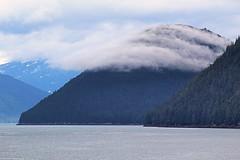 Good Morning Alaska (Robert Borden) Tags: boat cruise alaska shore coast clouds mountains nature water wet sea morning northamerica usa juneau canon canonphotography canonrebel familyreunion vacation