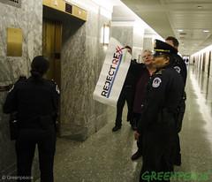 New York Protest (Greenpeace USA 2016) Tags: tillerson capitolhill exxonmobile exxon statedepartment secretary foreignrelations trump climate denier oil heaaring diplomat exxonknew rejectrexx washington districtofcolumbia unitedstates usa
