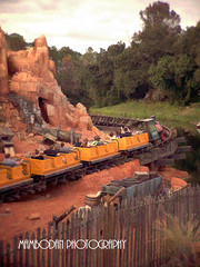 Big Thunder Mountain Railroad... (Mambo'Dan) Tags: disneyworld themepark rollercoaster digitalphotopainting photopainting bigthundermountain