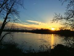 Sunset Over Roebling Park (Tim Loesch) Tags: lake mercercounty newjersey nj trenton sunset