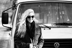 K&VW (jbrighamphotography) Tags: nikonf photomic nikon nikkor kodak tmax filmphotography streetphotography portrait volkswagen blackandwhite monochrome 400tmy