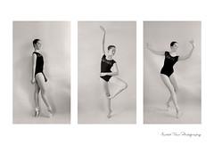 Ballet series... (Martin Tůma) Tags: ballerina balet girl black white prety