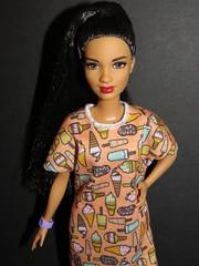 Barbie Fashionistas 56 - Style So Sweet - Petite (The Doll Cafe) Tags: barbiefashionistas dvx78 dollsofcolor 56 stylesosweet petitebarbie