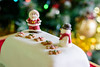 Happy Christmas to one and all. (CAscotPhotography) Tags: christmas cascotphotography cake food santa snowman tree decoration mixedlighting daylight flash strobe bokeh nikon d7100 dof depthoffield